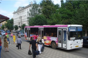 Реклама на автобусах в Кирове Киномакс_2