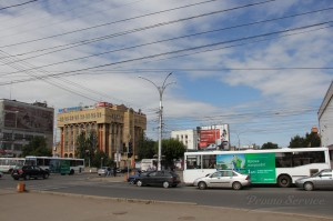 Реклама на городском транспорте в Кирове Мегафон_4