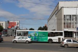 Реклама на автобусах в Кирове Мегафон_6