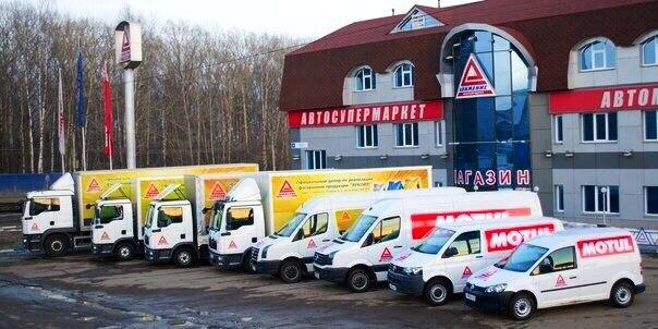 Реклама на транспорте, машинах в Кирове - Motul